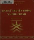 Xã Phú Chánh - Lịch sử truyền thống: Phần 1