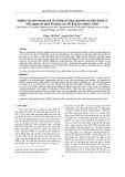 Nghiên cứu ảnh hưởng của các thông số công nghệ đến sự hình thành và biến dạng của phoi khi phay cao tốc hợp kim nhôm A6061