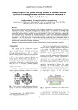 Study to improve the spindle bearing stiffness of medium external cylindrical grinding machines based on numerical simulation of hydrostatic lubrication