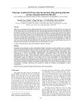 Tổng hợp và phân tích tổ hợp nano bạc thu được bằng phương pháp khử ion bạc trong dịch chiết từ lá dâu tằm
