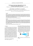 Mô phỏng quá trình phun nhiệt phân hỗ trợ siêu âm bằng phương pháp phần tử hữu hạn