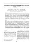 Ảnh hưởng của khe hở bán kính tới phân bố áp suất ổ đầu to thanh truyền của động cơ 5S-FE