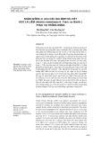 Nhân giống in vitro các gia đình ưu việt keo lá liềm (Acacia crassicarpa A. Cunn. ex Benth) phục vụ trồng rừng