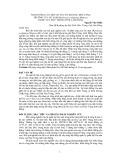 Ảnh hưởng của một số yếu tố khí hậu đến tăng trưởng của du sam (Keteleeria evelyniana Masters) ở khu vực Đức Trọng tỉnh Lâm Đồng