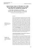 Đánh giá thực trạng và tiềm năng phát triển keo lá liềm (Acacia crassicarpa A.Cunn ex Benth) trên vùng cát ven biển tỉnh Quảng Trị