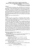 Nghiên cứu khả năng nảy mầm của hạt giống thông ôcarpa (pinus oocarpa schiede ex schlechtendal) trồng tại Lâm Đồng