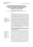 Độ bền ván mỏng gỗ bạch đàn urophylla và gỗ keo tai tượng biến tính bằng N - methylol và dầu vỏ hạt điều chống lại mối nhà coptotermes formosanus shiraki