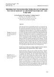 Tiềm năng phát thải khí nhà kính trong lĩnh vực sử dụng đất, thay đổi sử dụng đất và lâm nghiệp giai đoạn 2010-2020 ở Việt Nam