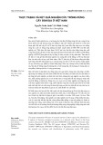 Thực trạng và kết quả nghiên cứu trồng rừng cây bản địa ở Việt Nam
