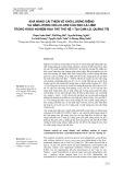 Khả năng cải thiện về khối lượng riêng và hàm lượng cellulose của keo lá liềm trong khảo nghiệm hậu thế thế hệ 1 tại Cam Lộ, Quảng Trị