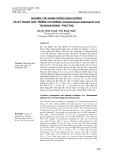 Nghiên cứu nhân giống sinh dưỡng và kỹ thuật gây trồng vù hương (cinnamomum balansae H.lec) tại Đoan Hùng  - Phú Thọ