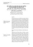 Ảnh hưởng của chất điều hòa sinh trưởng và loại hom đến khả năng ra rễ của Hom Thủy tùng (Glyptostrobus pensilis)