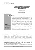 A study on safety of reconstructed regions after 1990 Rudbar-Manjil earthquake in Iran