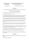 Quyết định số 475/QĐ-UBND tỉnh Ninh Bình