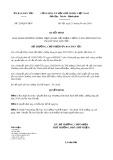 Quyết định số 229/QĐ-UBDT ban hành ngày 23/04/2019