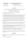 Quyết định số 472/QĐ-UBND tỉnh Ninh Bình