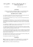 Quyết định số 920/QĐ-BCT năm 2019