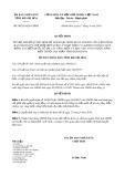 Quyết định số 08/2019/QĐ-UBND