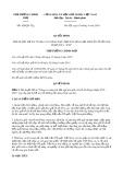 Quyết định số 428/QĐ-TTg ban hành ngày 18/4/2019