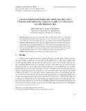 Vận dụng phương pháp khoa học trong dạy học vật lí ở trường phổ thông: Đưa nội dung nghiên cứu tổng quan vào tiến trình dạy học