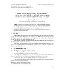 Nhiệm vụ của trường Đại học sư phạm Hà Nội trong việc thực hiện đề án đổi mới chương trình, sách giáo khoa giáo dục phổ thông sau năm 2015