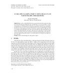 Sự thay đổi của nghề lưới rê và những hệ quả của nó tại đầm Nha Phu, tỉnh Khánh Hòa