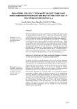 Ảnh hưởng của xử lý thủy nhiệt và chất chậm cháy mono ammonium phosphate đến một số tính chất vật lý của gỗ bạch đàn urophylla