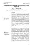 Thành phần loài và biến động diện tích rừng ngập mặn tỉnh Hà Tĩnh