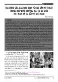 Tác động của các quy định về rào cản kỹ thuật trong hiệp định thương mại tự do giữa Việt Nam và EU đối với Việt Nam