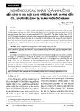 Nghiên cứu các nhân tố ảnh hưởng đến hành vi mua mặt hàng nước giải khát không cồn của người tiêu dùng tại Thành phố Hồ Chí Minh