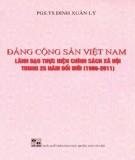 Thực hiện chính sách xã hội trong 25 năm đổi mới do Đảng Cộng sản Việt Nam lãnh đạo (1986-2011): Phần 1