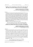 Nghiên cứu đặc tính protein và phân tích in silico mức độ biểu hiện của họ gen CaSWEET ở cây Đậu gà (Cicer arietinum)