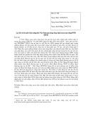 Lợi ích và chi phí tiềm năng khi Việt Nam gia nhập hiệp định mua sắm công WTO (GPA)