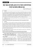 Thực trạng huy động, quản lý và sử dụng nguồn vốn ODA ở Việt Nam trong thời gian qua