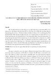 Tác động của các hiệp định đầu tư song phương tới dòng vốn đầu tư trực tiếp nước ngoài vào Việt Nam