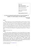 """Các yếu tố ảnh hưởng đến hành vi sử dụng báo điện tử: Nghiên cứu trường hợp """"tuổi trẻ online"""""""