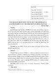 Ứng dụng ma trận SWOT cho tổ chức phi lợi nhuận và giải pháp chiến lược cho Hiệp hội Ngân hàng Việt Nam