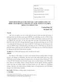 Kiểm định mối quan hệ nhân quả giữa khối lượng cổ phiếu giao dịch của nhà đầu tư nước ngoài và sự biến động của chỉ số VN30