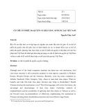 Cơ chế cổ phiếu đa quyền và khả năng áp dụng tại Việt Nam