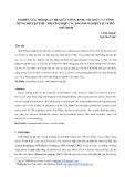 Nghiên cứu mối quan hệ giữa công bằng tổ chức và tính hững hờ tập thể - trường hợp các doanh nghiệp tại Tp. Hồ Chí Minh