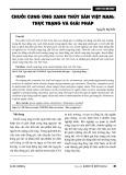 Chuỗi cung ứng xanh thủy sản Việt Nam: Thực trạng và giải pháp