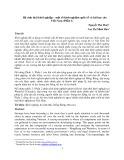 Hệ sinh thái khởi nghiệp - một số kinh nghiệm quốc tế và bài học cho Việt Nam (Phần 1)