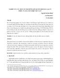Nghiên cứu các nhân tố ảnh hưởng đến quyết định mua lại cổ phiếu của doanh nghiệp Việt Nam