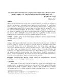 Các nhân tố ảnh hưởng tới ý định khởi nghiệp sinh viên ngành kỹ thuật: Nghiên cứu trường hợp đại học bách khoa Hà Nội