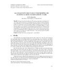 Gia tăng dân số cơ học và di cư ở thành phố Hà Nội: Xu hướng và những tác động kinh tế - xã hội