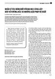 Quản lý tài chính đối với đại học công lập: Một số vướng mắc và những giải pháp đề xuất
