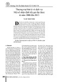 Thương mại bán lẻ và dịch vụ: Một số nhận định kết quả đạt được từ năm 2000 đến 2013