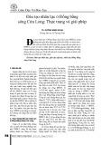 Đào tạo nhân lực ở Đồng bằng sông Cửu Long: Thực trạng và giải pháp
