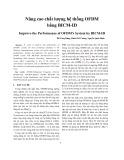 Nâng cao chất lượng hệ thống OFDM bằng BICM-ID