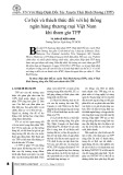 Cơ hội và thách thức đối với hệ thống ngân hàng thương mại Việt Nam khi tham gia TPP